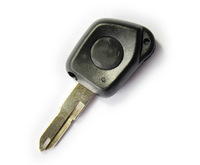 10pcs/lot   1 Button Key Remote Fob Case Shell for Peugeot 106 205 206 306 405 406 Repair RC