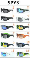 Hot Sale 2014 High Quality  SPY 3 OPTIC KEN BLOCK HELM Spy  Sunglasses for Sport Glasses Men Sun galsses