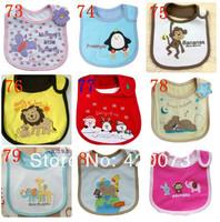 5 Pcs/lot Baby Boy Girl Cute Bibs,Infant Waterproof Towel Saliva,Cartoon Pattern Bibs For Toddler  CN908801