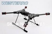 H4 Folding Quadcopter Fiberglass Frame & Landing Gear 680 Alien FPV Aircraft!DIY drone