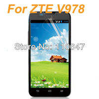For ZTE V987 5inch Clear LCD Screen Protector Guard Film With Retail Package Free Shipping