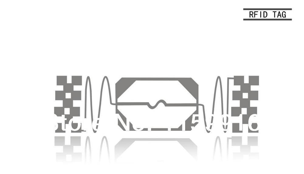 Free Shipping + UHF Dry Inlay RFID chip 80 * 27 Inlay Alien label(China (Mainland))