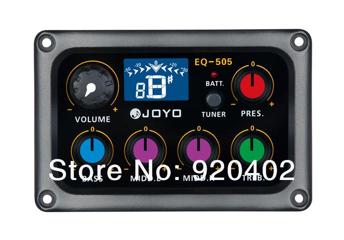 JOYO EQ-505 Digital 5 Band EQ Electric Guitar Pickup Pick ups Preamp & & Tuner with LCD Display Guitar Accessories(China (Mainland))