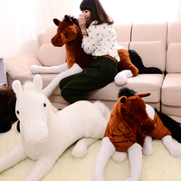 Plush toy zodiac lucky horse pillow cushion child birthday day gift