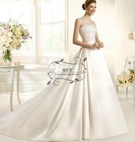 new 2014 lace elegant Retro palace sweetheart bridal gown princess wedding dress
