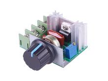 2000W 220V AC SCR Electric Voltage Regulator Motor Speed Control Controller #49485