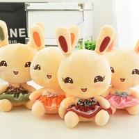 Rabbit endomorph plush toy cloth doll dolls girls birthday child male valentine day gift