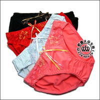 Multi-colored women's comfortable triangle panties
