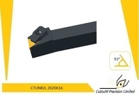 Whosale Cutoutil insert  CTUNR/L 2020K16  for steel hardmetal matching  standard turning tools