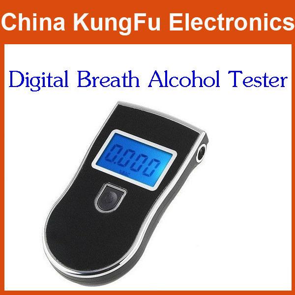 Patent portable mini Professional Police Digital Breath Alcohol Tester Breathalyzer test Freeshipping Dropshipping(China (Mainland))