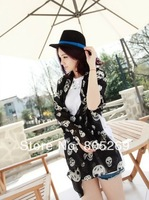 Kito Fashion Black Chiffon Spring and summer Casual Scarf