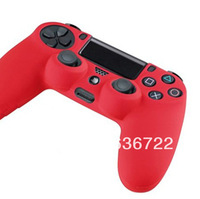 4 Styles 1 PCS Silicone Gel Rubber Case Skin Grip Cover For Playstation 4 PS4 Controller  Free Shipping
