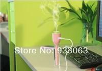 Free shipping USB Portable Amazing Humidifier Air Mist Mini Ultrasonic For Office Room vehicle-mounted humidifier ultrasonic