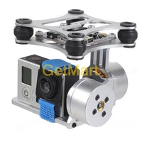 DJI Phantom Gopro 2 3 Metal Brushless Gimbal Camera w/Motors & Controller RTF