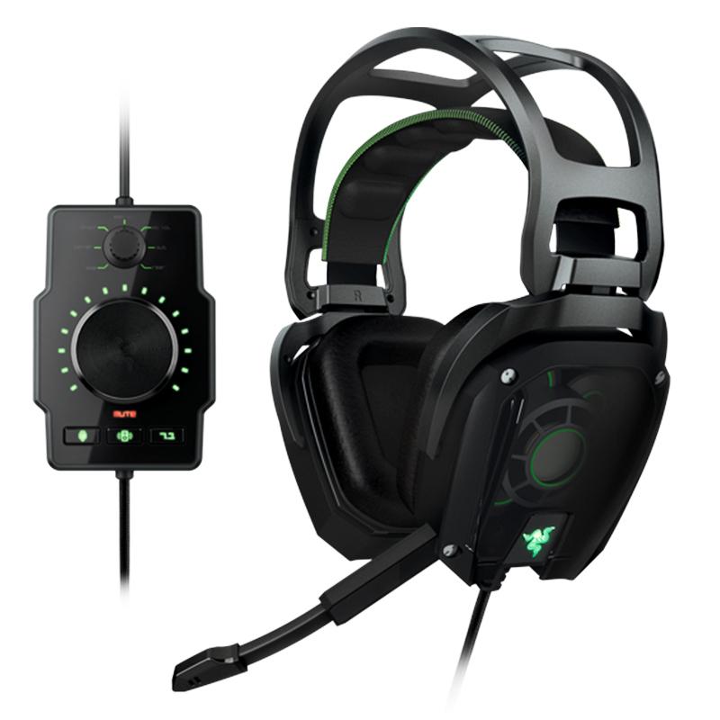Razer Tiamat 7.1 Analog 7.1 Surround Sound Gaming Headset Fast& Free shipping, In stock Analog Gaming Headset(China (Mainland))