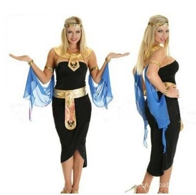 FREE SHIPPING Ladies Roman Empress Toga Robe Greek Goddess Fancy Dress Halloween Costume(China (Mainland))