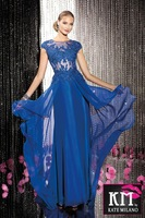 Wedding dress european version of the long design formal dress bride evening dress formal dress prom