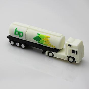 Real 2GB/4GB/8GB/16GB/32GB Plastic British Petroleum Truck USB Memory Pen Drive USB Thumb Stick(China (Mainland))