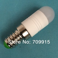 3W LED bulb  E14 beads led ceramic bulb white or Warm white high power 220-240v/ac led x10 free shipping