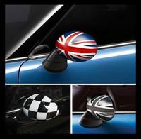 MINI Cooper One Clubman Countryman paceman car rear view mirror cover sticker