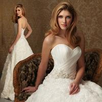 2015 new Tube top fashion princess sweetheart wedding brief bride princess wedding dress