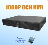 Standalone H.264 Full 8CH HD 1080P 2MP NVR Network Video Recorder BN-NVR1008