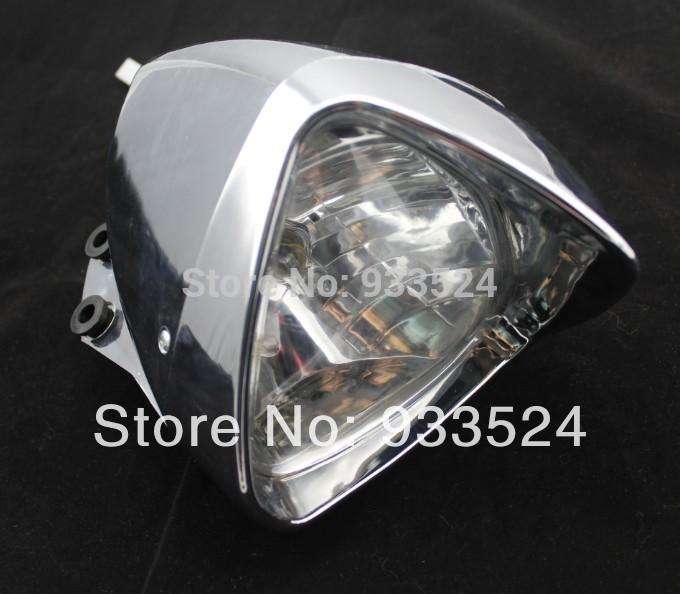 35W Motorcycle Custom Low High Beam Headlight For Suzuki C50 M109 Kawasaki ZX Harley Dynal Honda VTX VLX Shadow Rebel CBR Yamaha(China (Mainland))