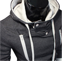 MH11 Mens Sexy Slim Fit Top Designed Hooded Hoodies Jackets Coats