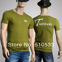 Fashion Men's Summer Tee Shirts Clothing 2014 New Style Male Tops High Quality T shirts Size M-XXLFREE SHIP