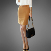 2014 spring half-skirt tailored skirt ol bust skirt slim hip skirt