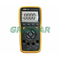 VICTOR 70C 3 5/6 Key Touch Digital Multimeter with PC interface/ Fast Shipping