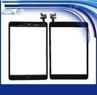Black Digitizer Touch Screen Glass Assembly Home Button Adhesive for iPad 2nd Gen free shipping