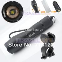 UltraFire E17 CREE XM-L T6 2000Lumens Bike Bicycle Flashlight Flash Light Torch With Mount Holder Free Shipping