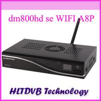 Satellite Receiver DM800hd se WIFI dvb-s Original Sim a8p Sunray 800se Enigma2 Bootloader 84 BCM4505 Tuner a8p  Free Shipping