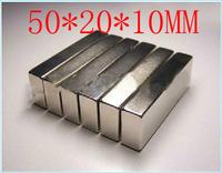 10pcs Block magnet 50 x 20 x 10 mm powerful magnet craft magnet neodymium  rare earth neodymium permanent strong magnet n50 n52