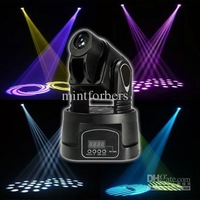 15W RGB LED Mini moving head spot light multicolor change DMX controller STAGE LIGHTING for DJ party