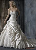 2015 stomacher long trailing elegance wedding dress design best selling dresses