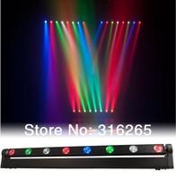 8pcs LED bar light Moving head beam (RGBW) disco light