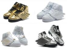 Человек и женщины Jeremy Scott крылья обувь Jeremy Scott крылья кроссовки четыре цвет варианты