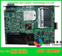 Sell free shipping  laptop motherboard for ASUS K52DR K52N motherboard AMD100% tested