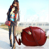 Hot sale new 2014 fashion women messenger bags Cylinder type vintage girl's shoulder bag handbag