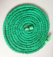 75ft water hose expandable hot sales green hose and fast connector