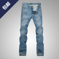 Autumn new arrival aj ax fashion slim straight casual male slim jeans  free shipping