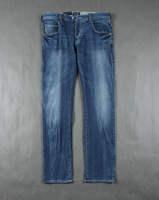 Aj spring male natural sand retro slim jeans 2 finishing  free shipping