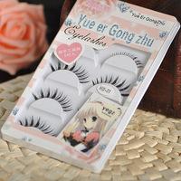 new 2014 natural eyelashes styling tools false eyelashes eyelash combination loading