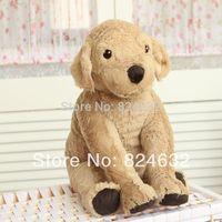 Free shipping children dog doll Small yellow Labrador puppy plush toy size 40CM