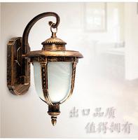 Vintage outdoor wall lamp fashion aluminum brief rustic lighting waterproof outdoor lamp indoor lighting the door  wholesale