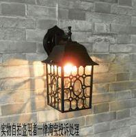Fashion balcony lights waterproof modern garden lights outdoor lamp rustic brief wall lamp gazebo entrance lights ceiling