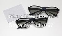 2 Pairs 3D Glasses Polarized Passive Glasses for LG Cinema AG-F310 LCD LED TV