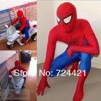 Details about  Fantastic!!! Lycra/Spandex Spiderman Hero Zentai Costume S-XXL